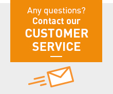 Any questions? Contact our Customer services